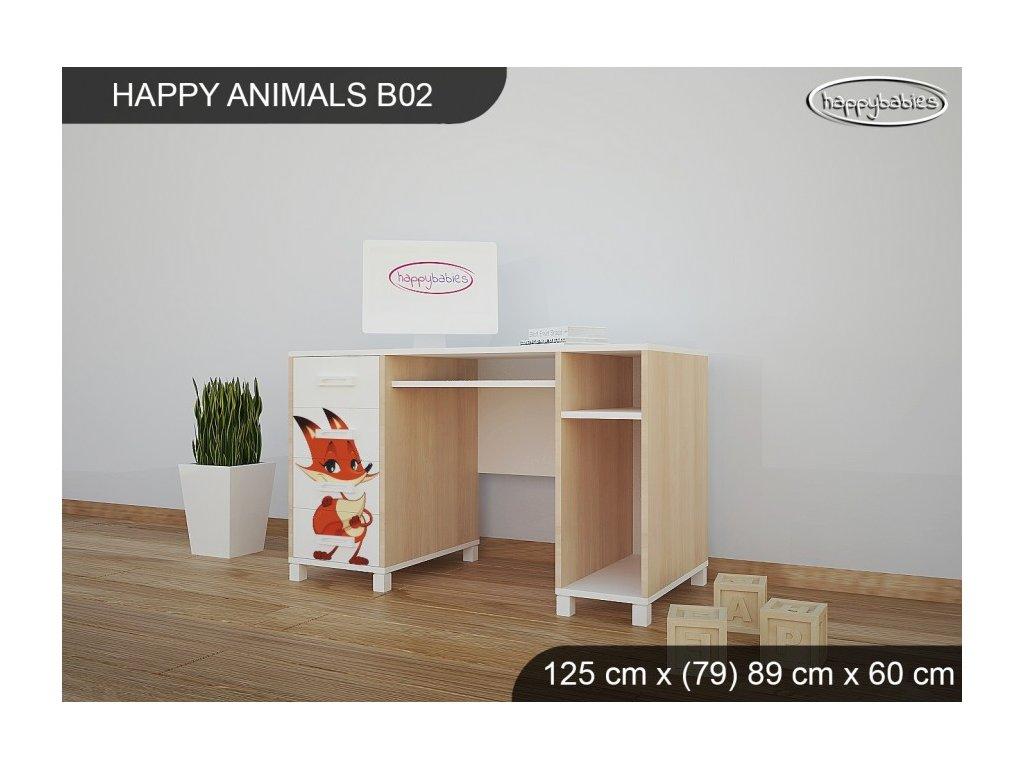 Psací stůl Animals B02 AM10