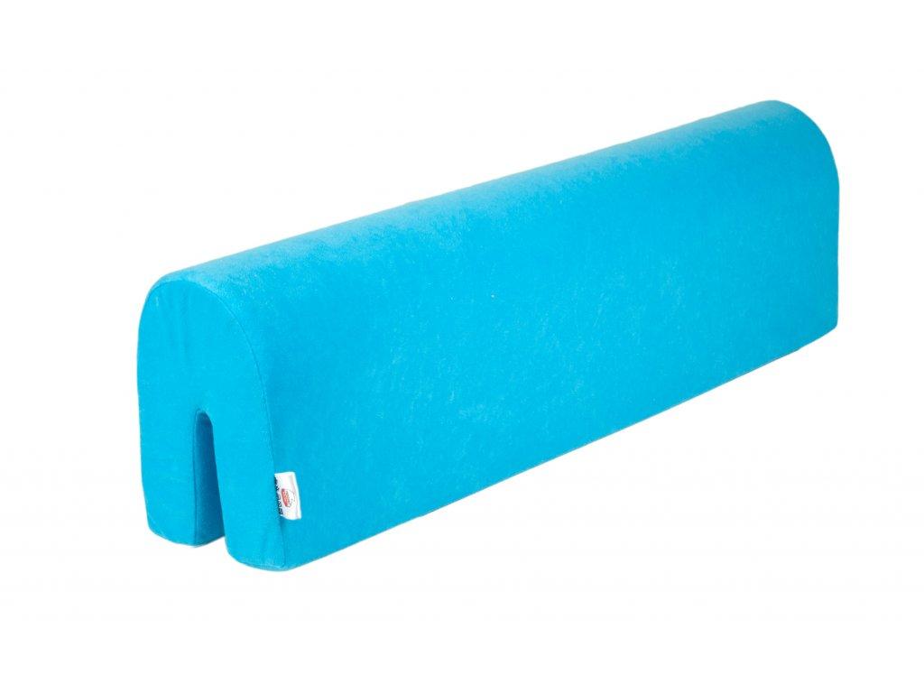 ochranný mantinel k posteli modrý