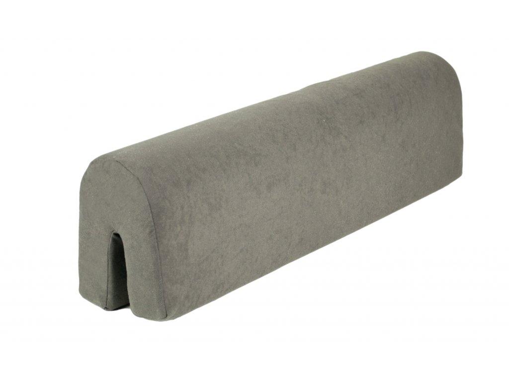 ochranný mantinel k posteli šedý