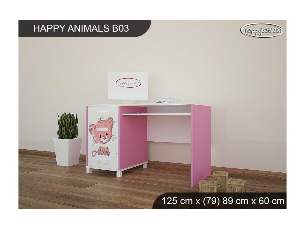 Psací stůl Animals B03 AM05