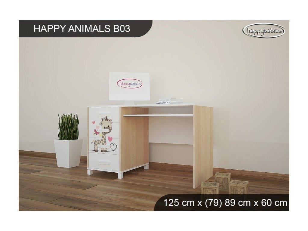 Psací stůl Animals B03 AM07