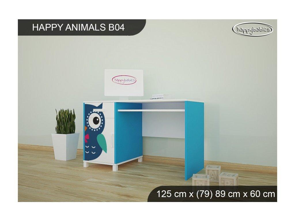 Psací stůl Animals B04 AM02