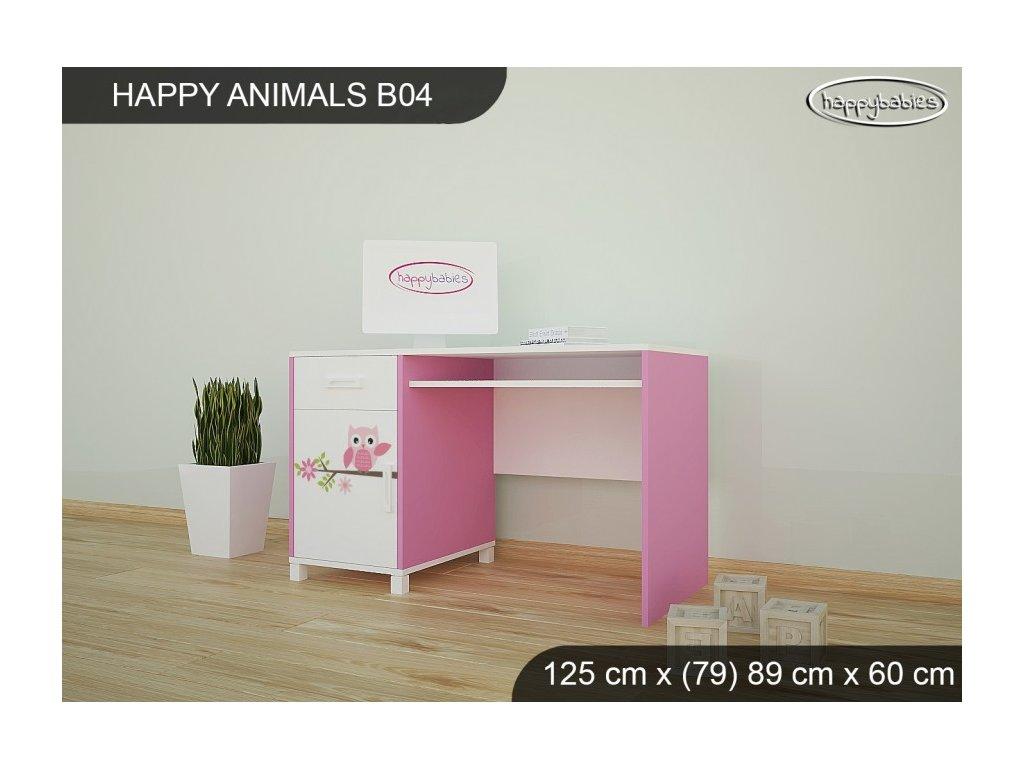 Psací stůl Animals B04 AM04