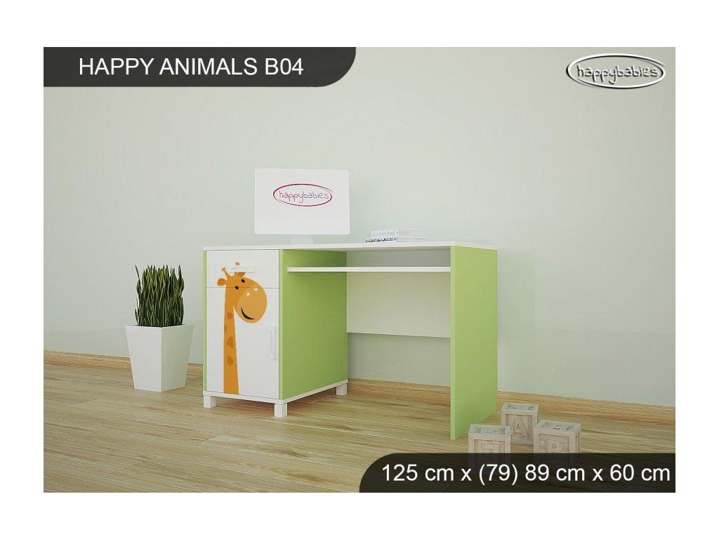 Psací stůl Animals B04 AM06
