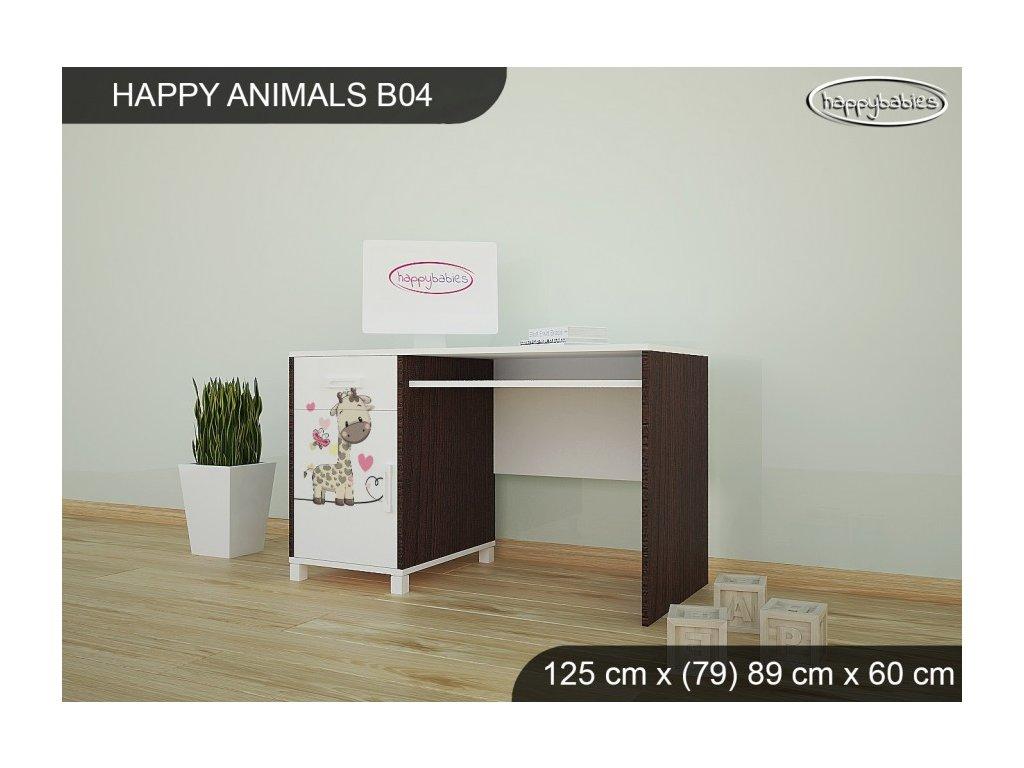 Psací stůl Animals B04 AM07