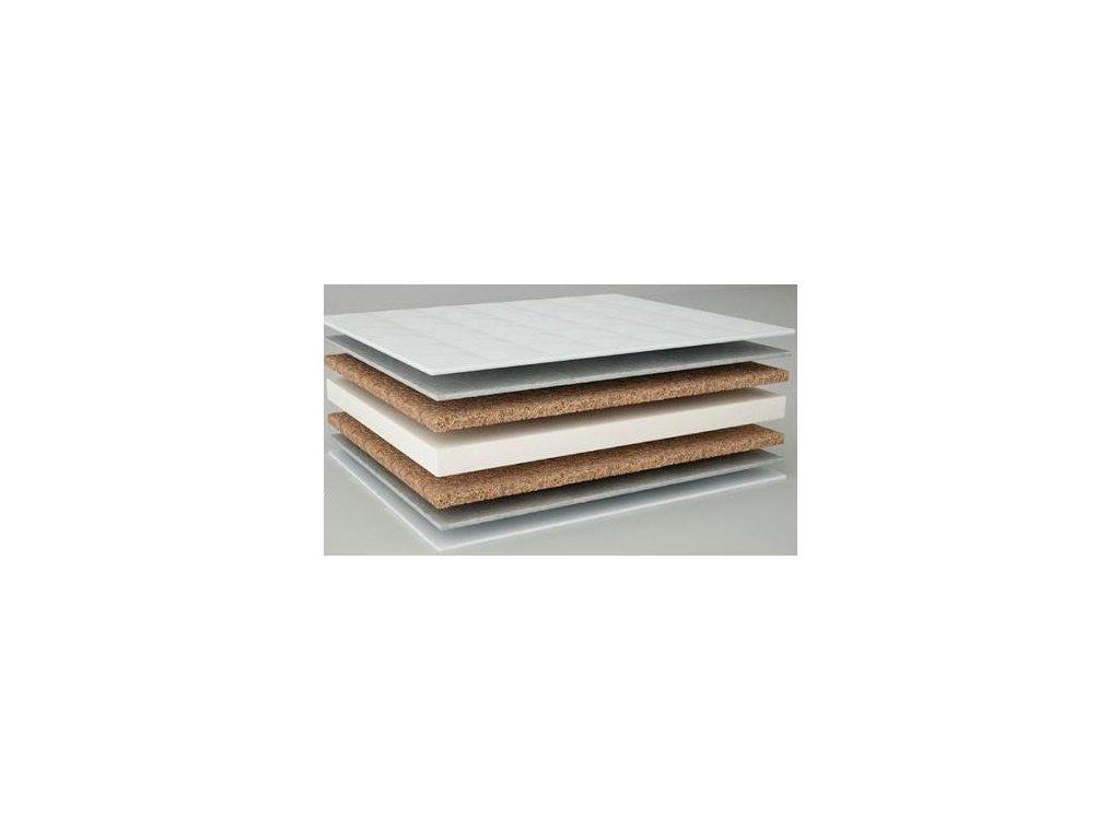 Matrace do postýlky - Kokos/Pěna/Kokos 140 x 70 x 8 cm