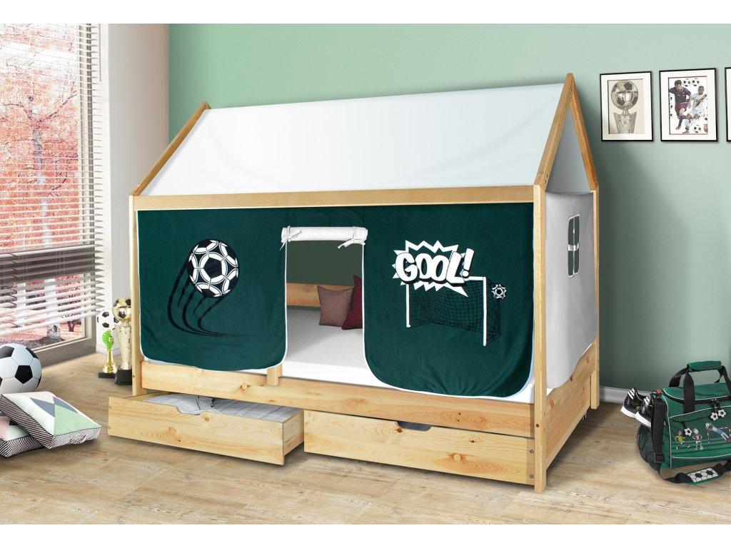 Dětská domečková postel
