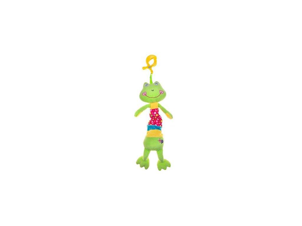 Plyšová závěsná hračka žába