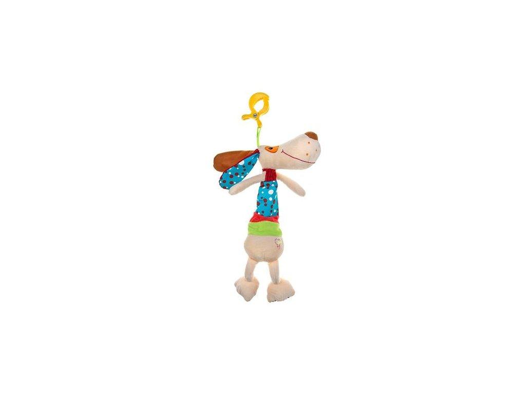 Plyšová závěsná hračka pejsek