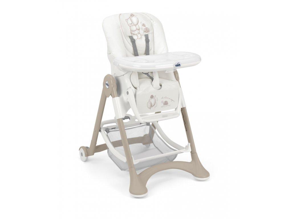 CAM Jídelní židlička Campione col. 241