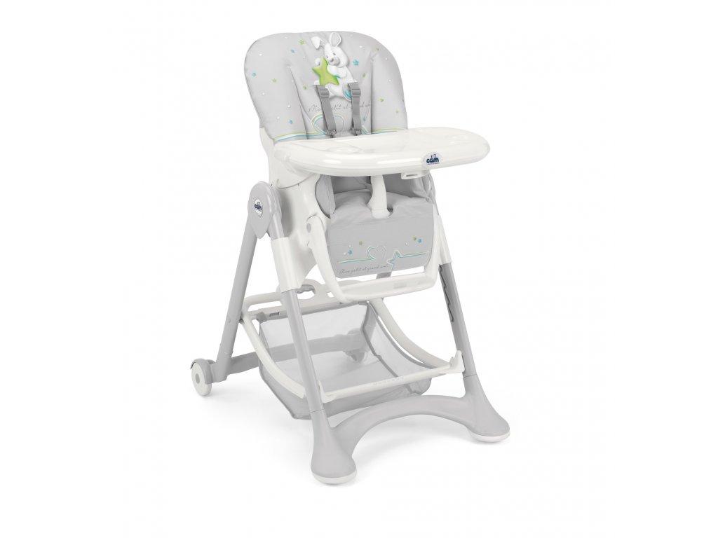 CAM Jídelní židlička Campione col. 242