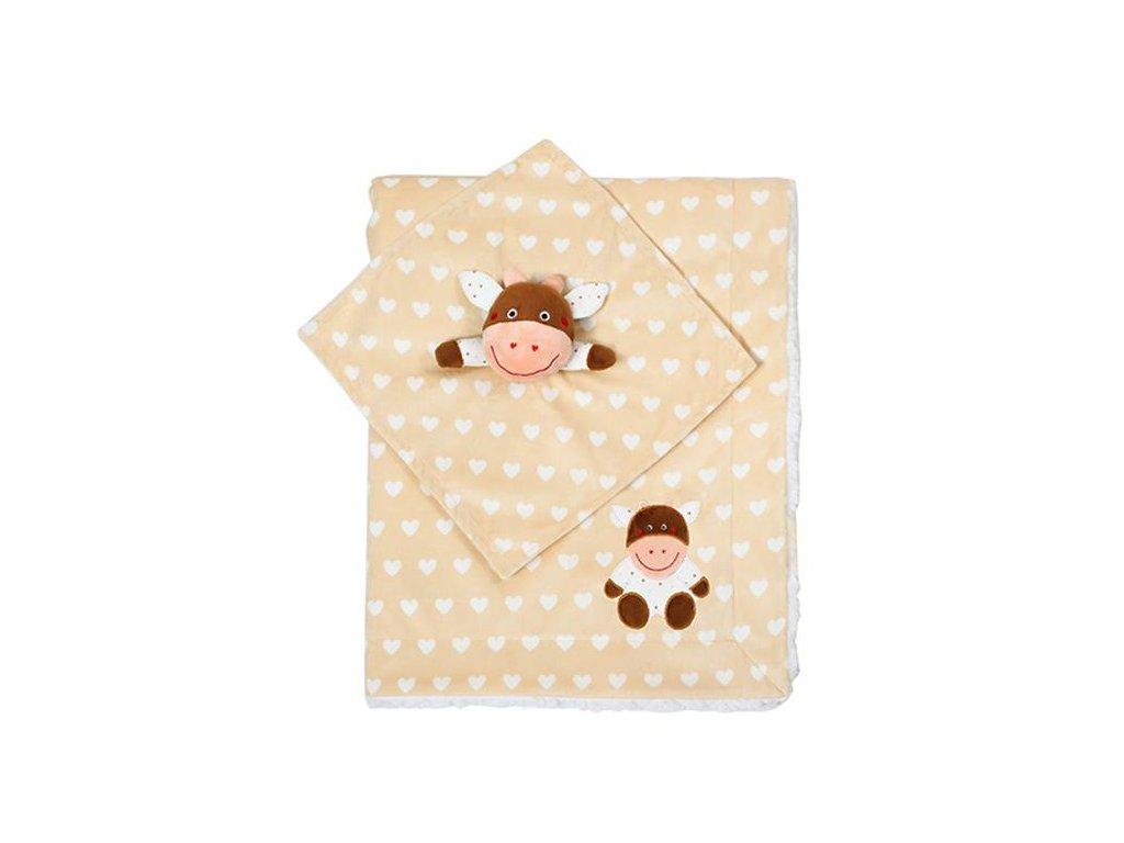 dětská deka s usínáčkem