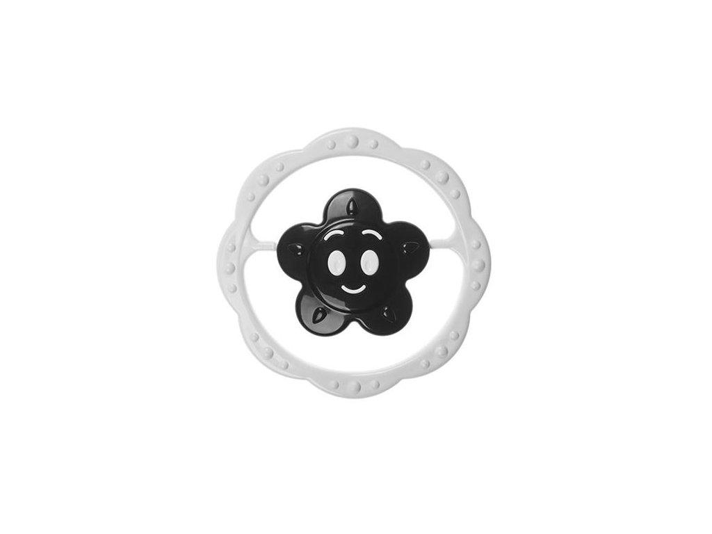 CHrastítko - černobílá květinka