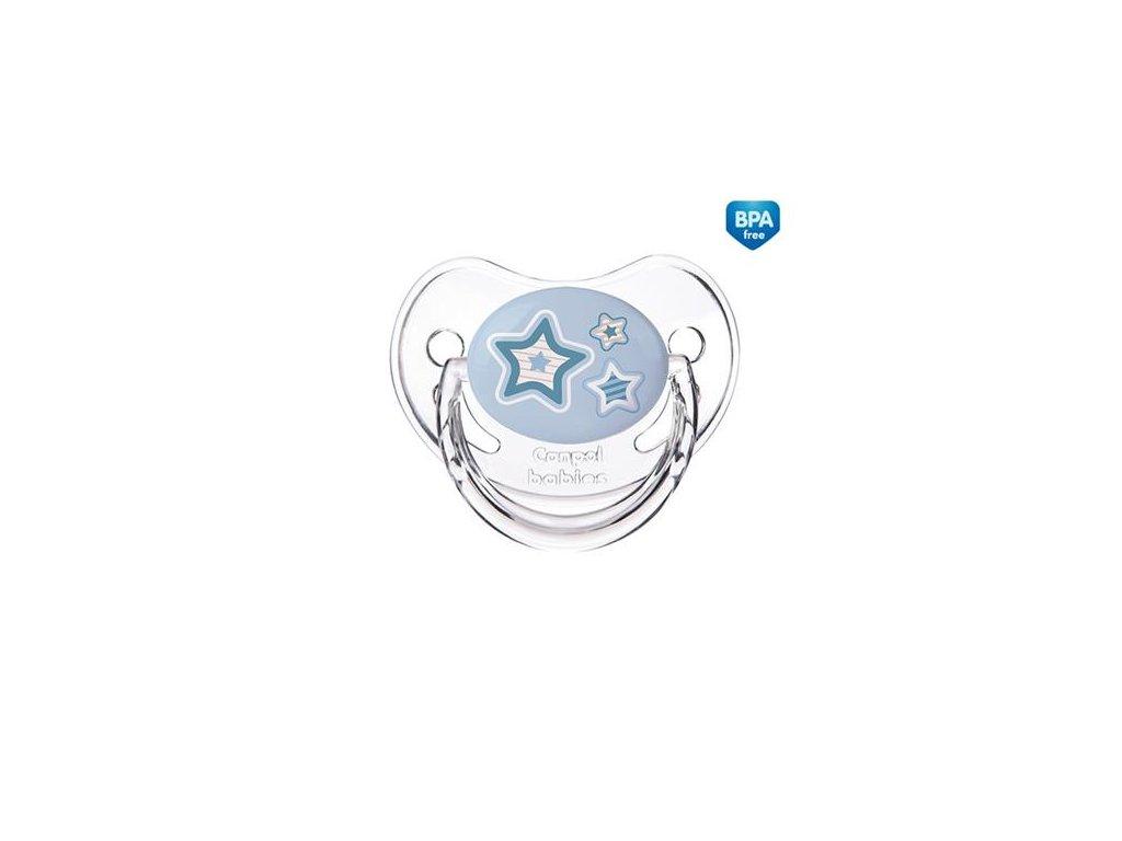 Dudlík Canpol Babies hvězda modrá
