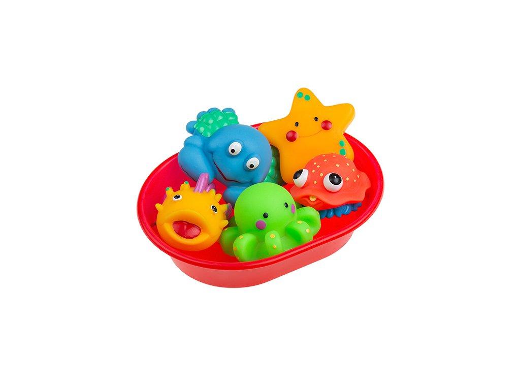 Tullo hračka do vany - vanička + kačenky