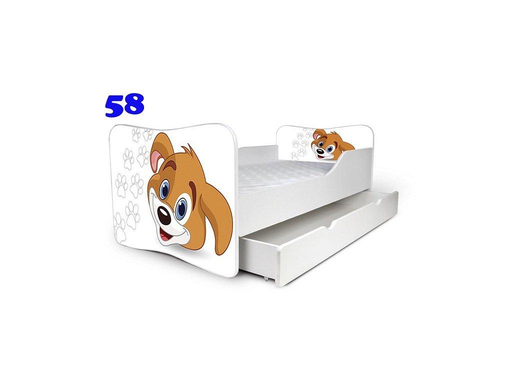 dětská postel pejsek