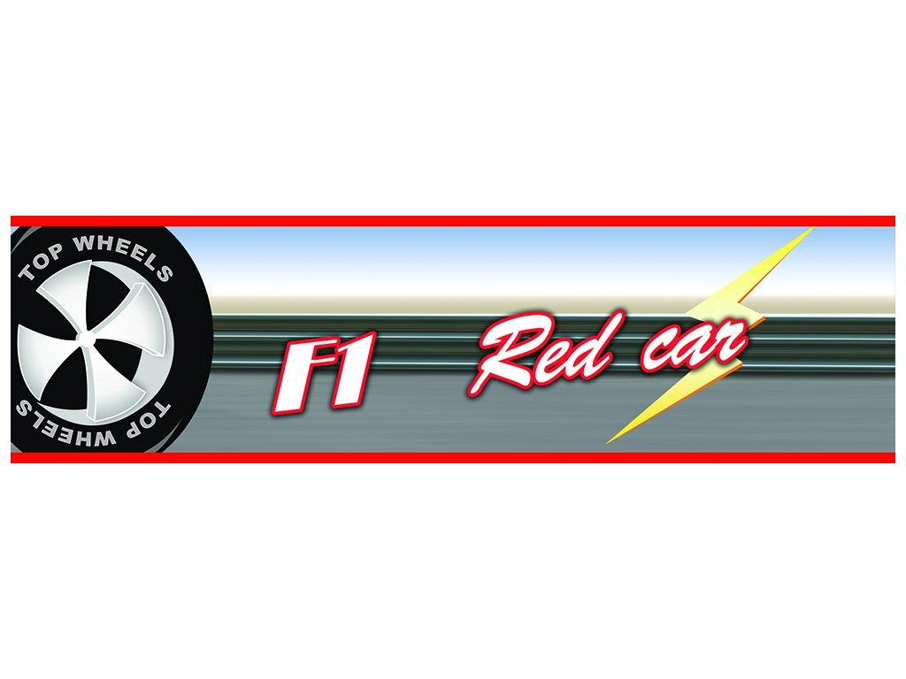 Dětská tapeta Adam 25 - red car 55