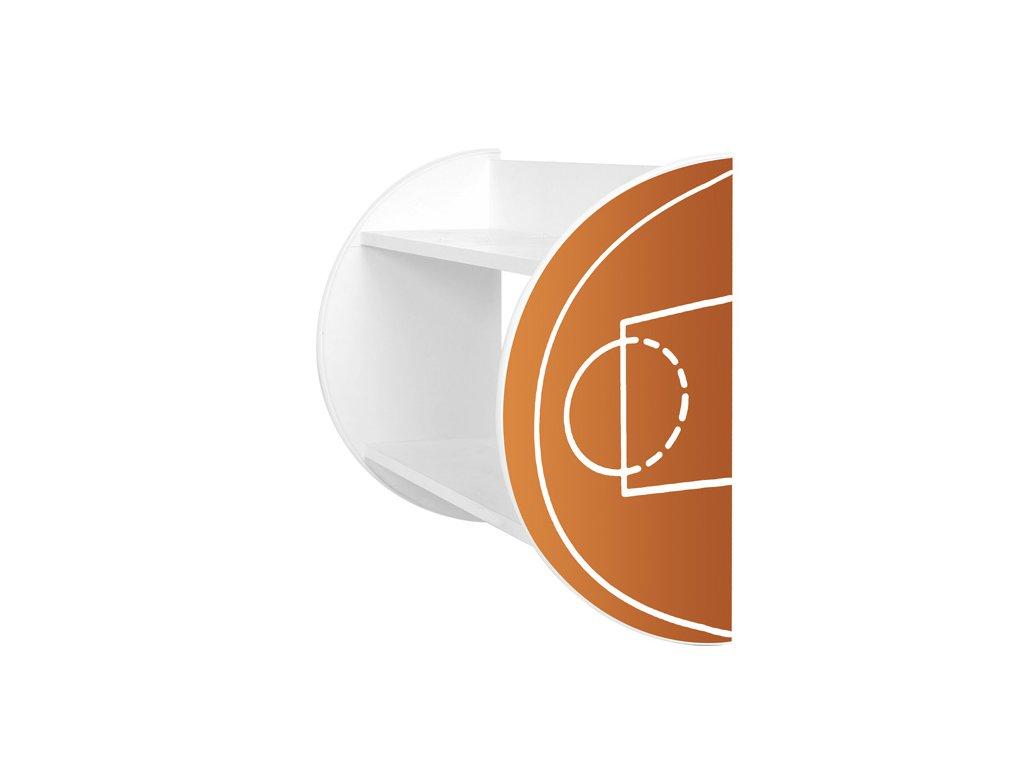 Dětská polička Adam 32 - basketbal