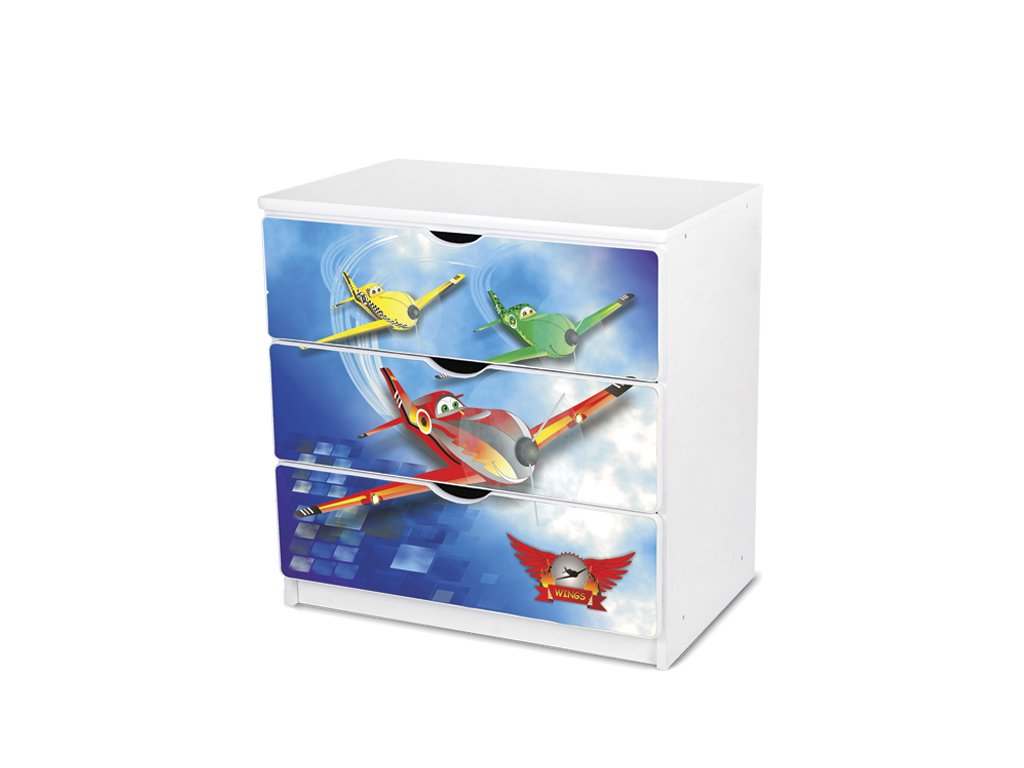 Dětská komoda Adam 43 - letadla