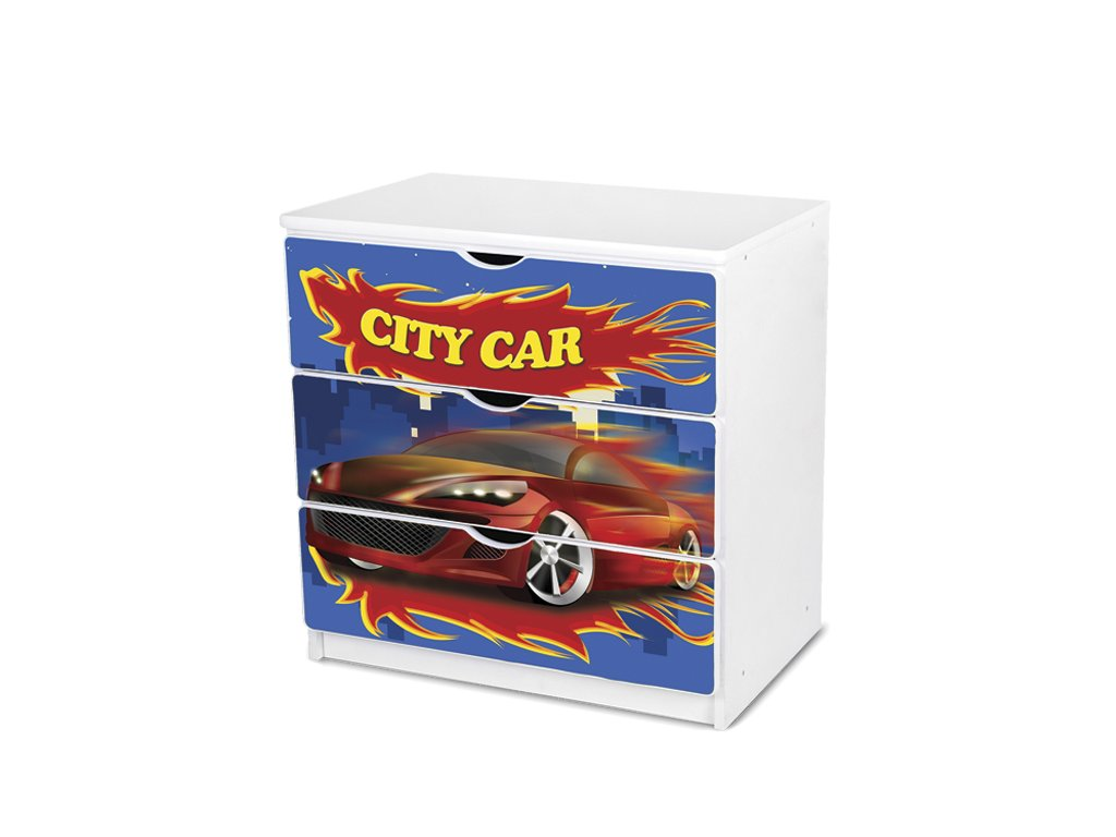 Dětská komoda Adam 44 - city car