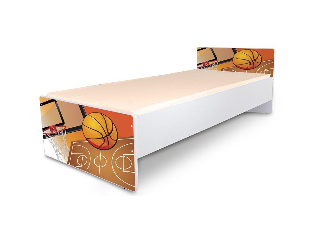 Postel pro mládež Junior 32 - basketbal 180x80 cm + matrace zdarma