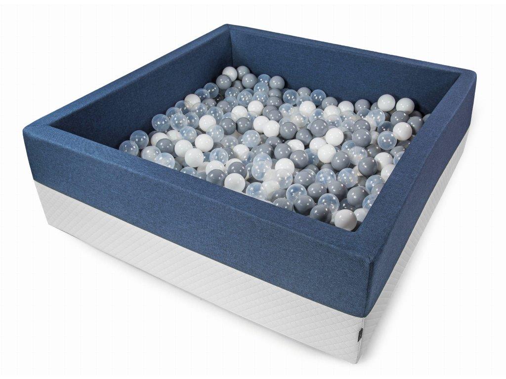 suchý bazém eco maxi modrý