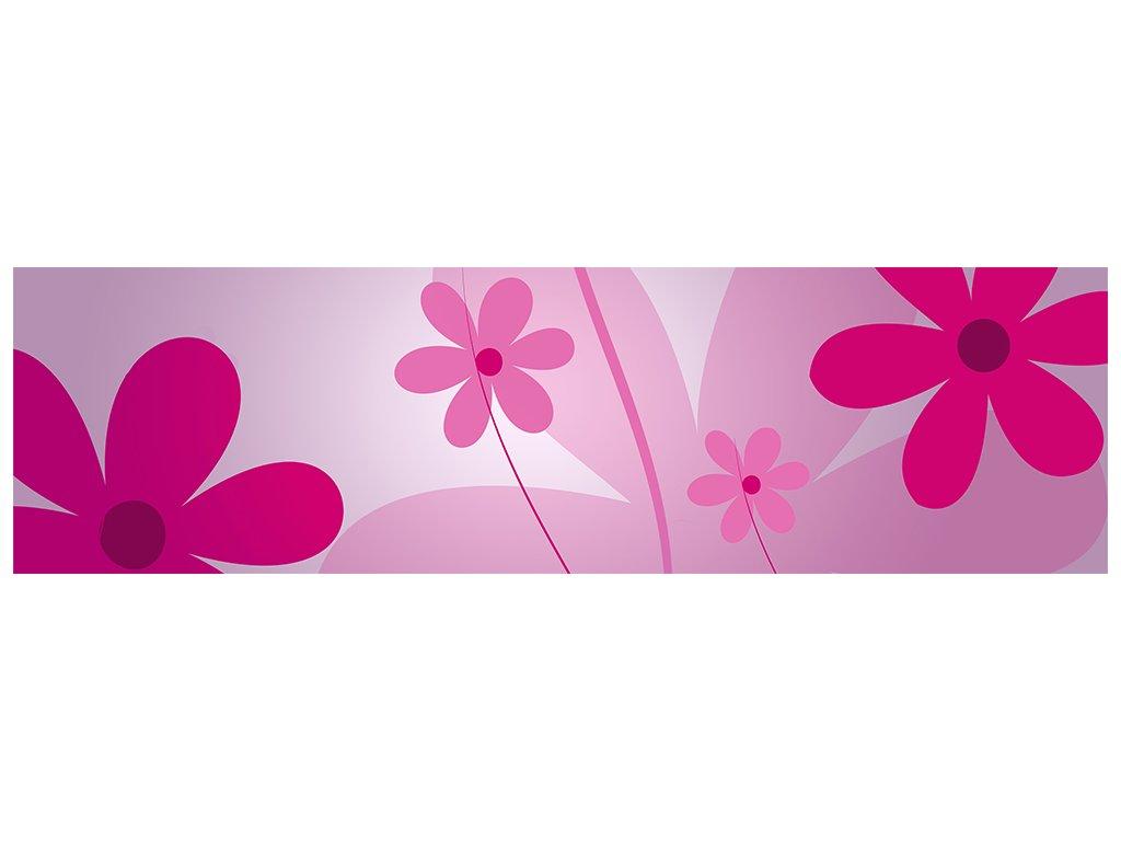 Dětská tapeta Adam 1 -  růžové květy
