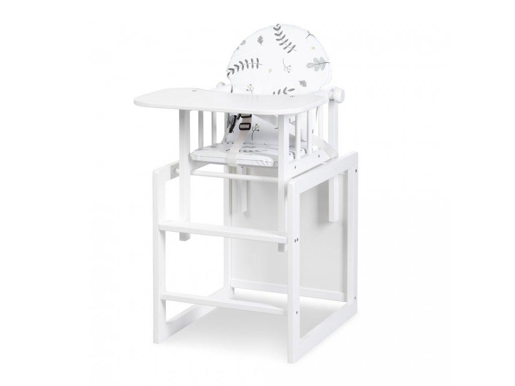 dřevěná jídelní židlička klups