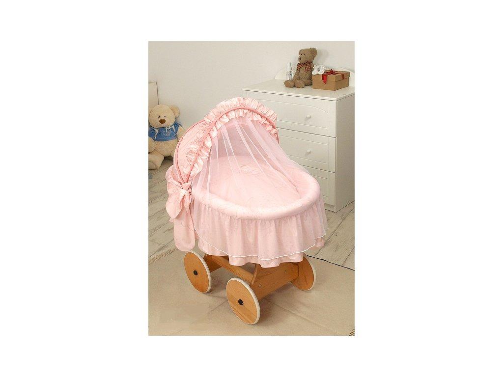 Proutěný košík s boudičkou s kompletním vybavením - VÍLA