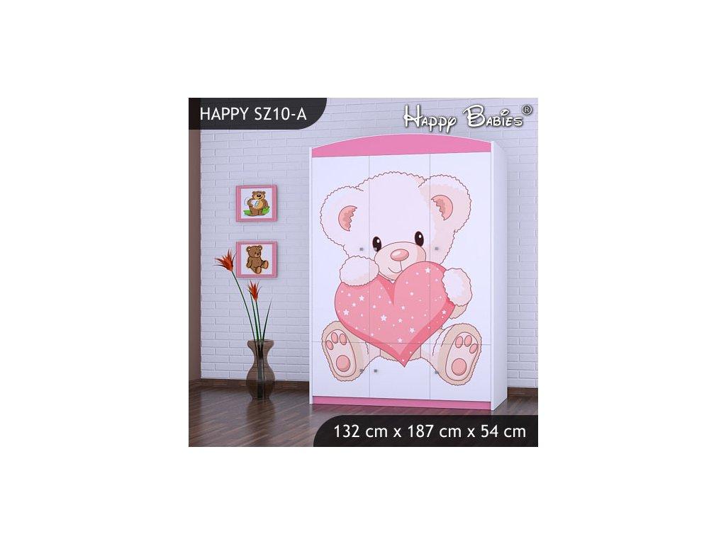 Dětská skříň s obrázkem Kevin SZ10-A
