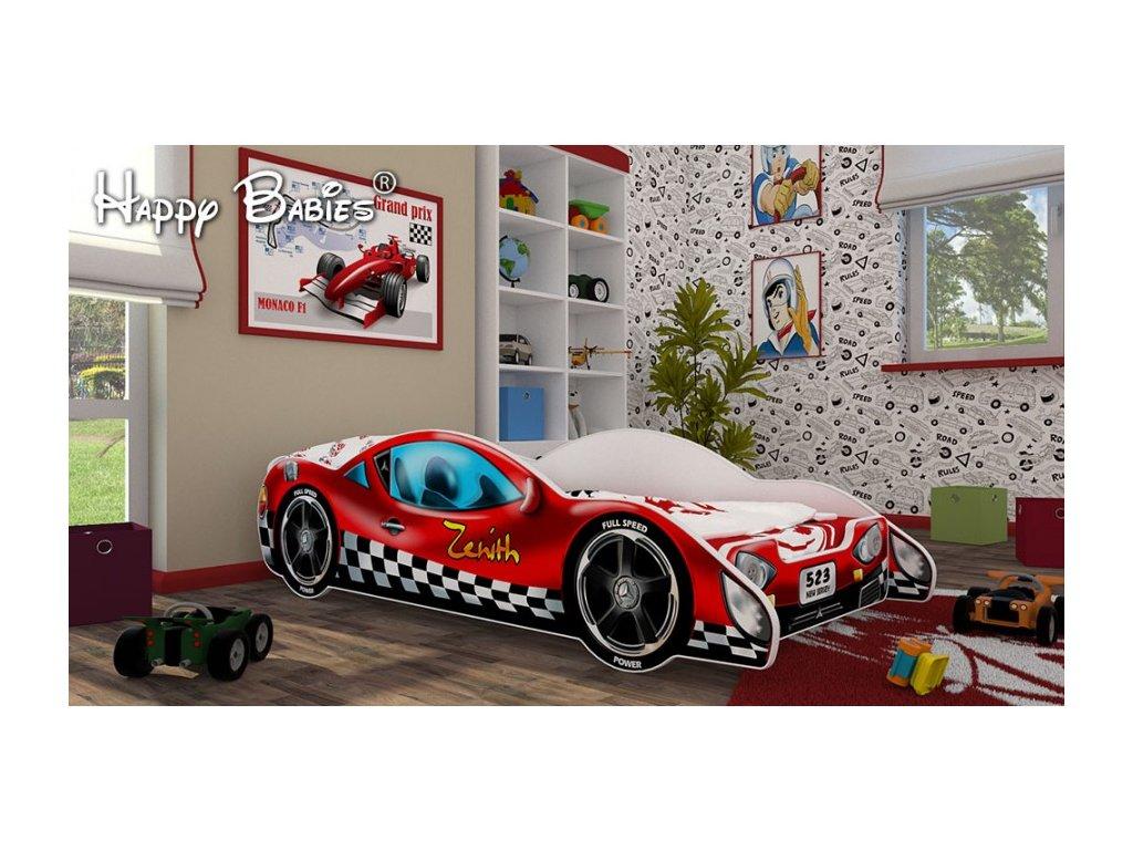 Dětská postel zenith červené 3