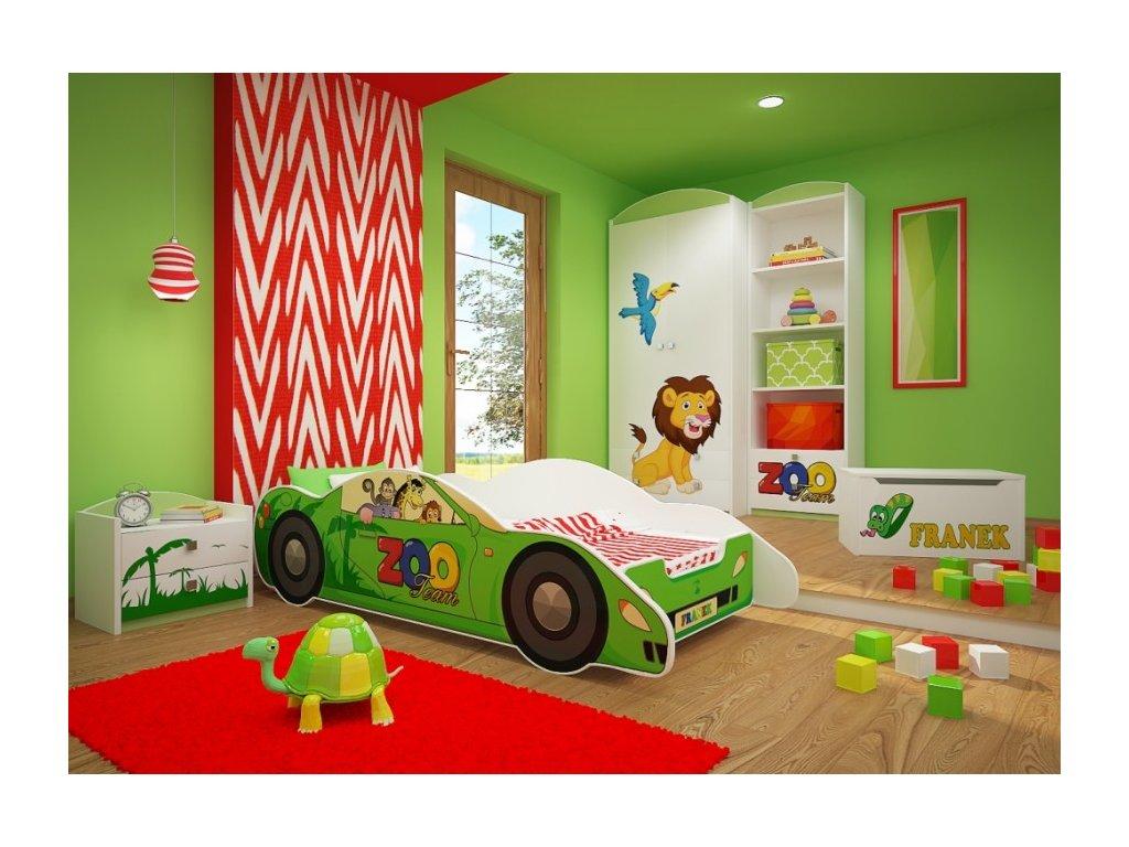 Dětská postel auto Zenith - ZOO