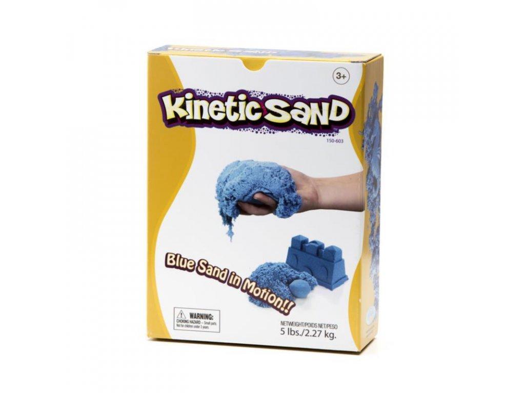 Kinetický písek modrý 2,27 kg