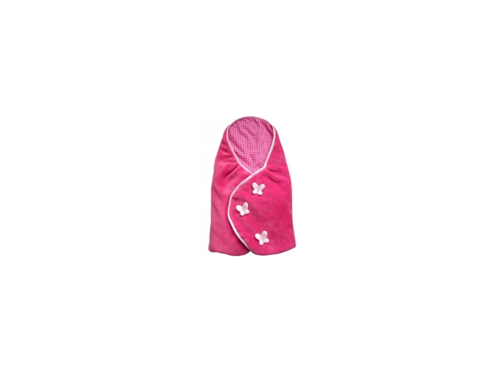 Pinkie zavinovačka Pink Bullets Butterfly
