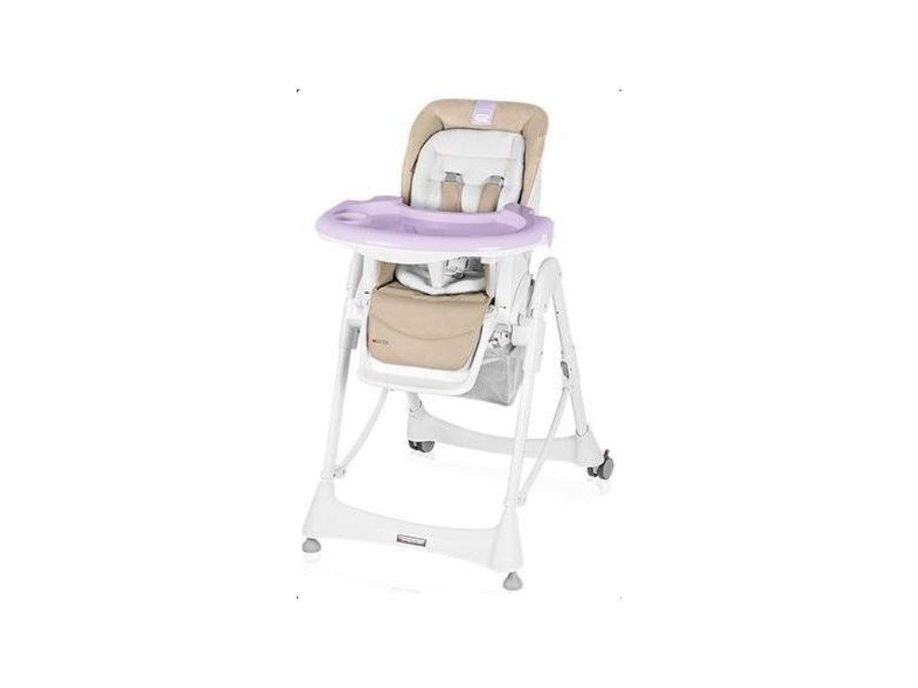 Jídelní židlička Espiro moka