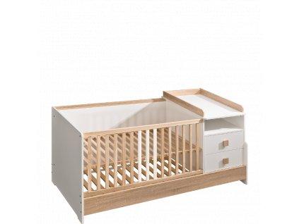 multifunkční dětská posteýlka kompakt marsylia
