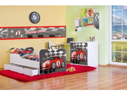 Dětský pokoj Adam - Auto červené