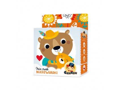 CzuCzu Mini puzzle Medvěd