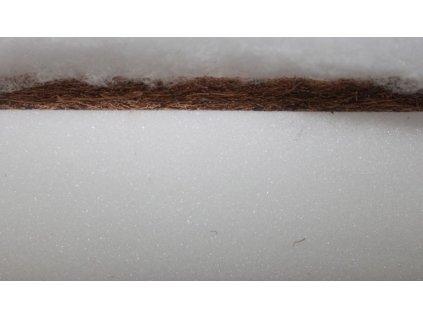 Matrace do postýlky - 120 x 60 x 6 cm - Kokos Pěna