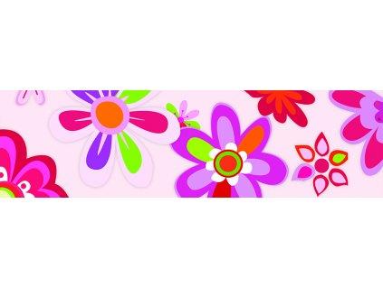 Dětská tapeta Adam 3 -  barevné  květy