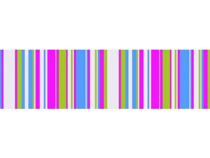 Dětská tapeta Adam 4 -  růžové proužky