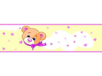 Dětská tapeta Adam 6 -  žlutý medvídek