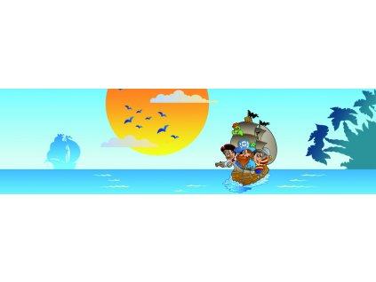 Dětská tapeta Adam 18 - Piráti