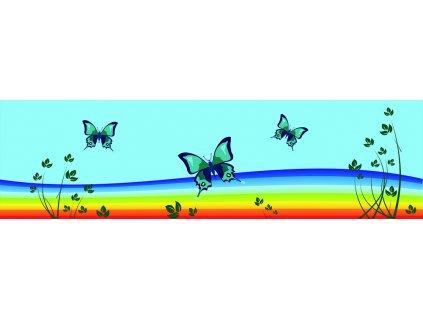 Dětská tapeta Adam 20 - motýli