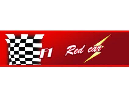 Dětská tapeta Adam 23 - red car