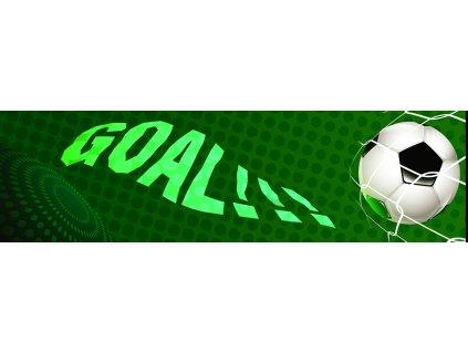 Dětská tapeta Adam 30 - zelený fotbal