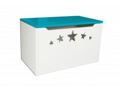 kufer na zabawki design gwiazdki (4)
