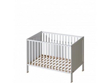 Basic dětská postýlka 120 x 60 cm bílá