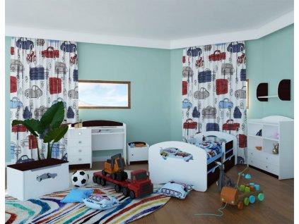 lozko dzieciece happy design z szuflada l04 16080 gwiazdki (5)