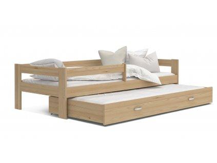 Dětská postel s přistýlkou Hery,HUGO borovice